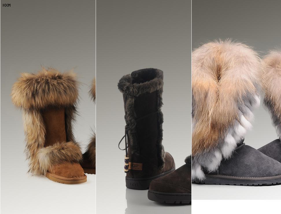 boots ugg avec fourrure